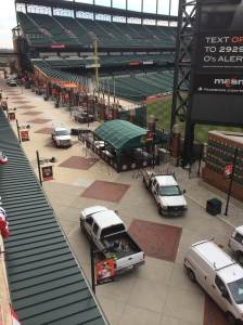 Preparation is Underway on Eutaw Street